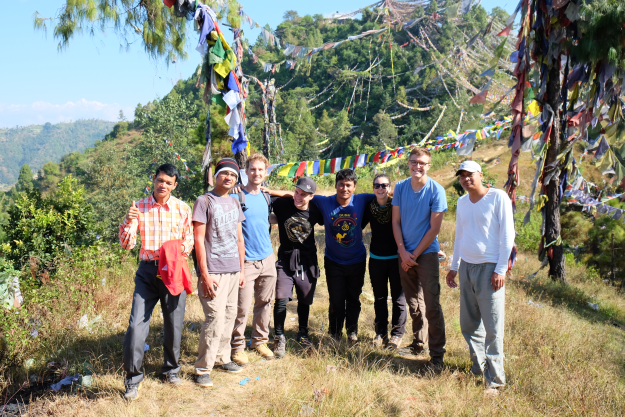 SCI Workcamp Balthali Fall 2015: The crew (61/100)